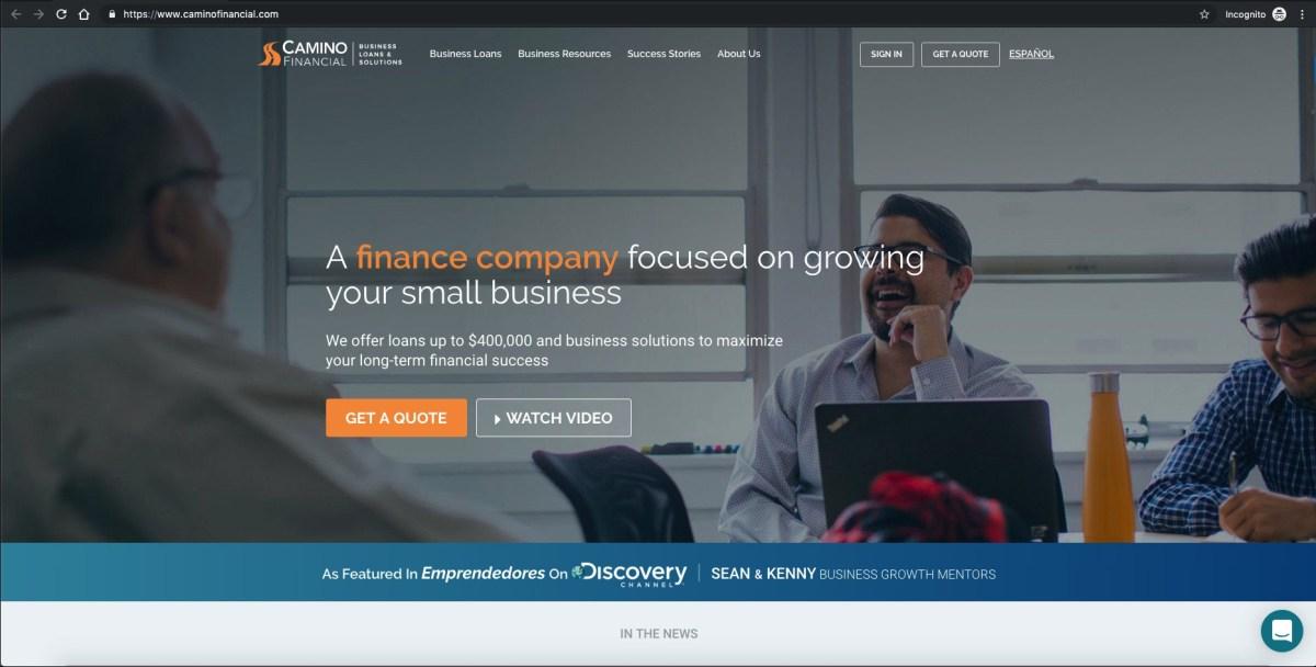 Camino financial Review